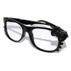 Zwarte Bril Met Zwarte Strik