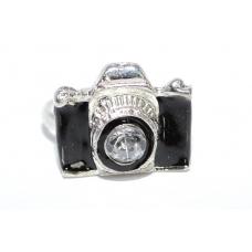 Zwarte Camera Ring