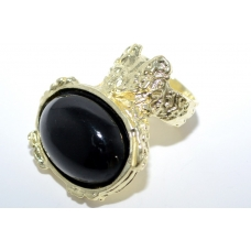 Zwarte Classic Ring