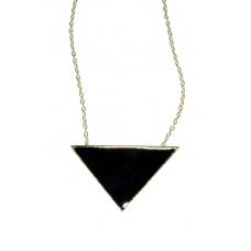 Zwarte Driehoek Ketting