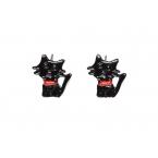 Zwarte Katten Oorbellen