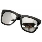 Zwarte Reflecterende Zonnebril