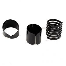 Zwarte Ringen Set