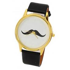 Zwarte Snor Horloge