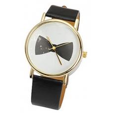 Zwarte Strik Horloge